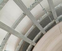 Καμπύλη οροφή τσιμεντοσανίδας