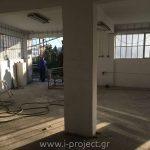 κατασκευή και διαχωρισμός ενιαίου χώρου με χρήση τσιμεντοσανίδων και γυψοσανίδων