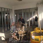 Διαχωρισμός ενιαίου χώρου με συστήματα ξηράς δόμησης
