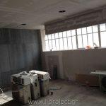 κατασκευή με τσιμεντοσανίδες σε γραφειακό χώρο εταιρίας στην Αθήνα