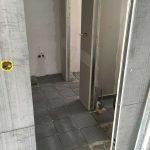εφαρμογή τοιχοποιίας με τσιμεντοσανίδα σε γραφεία