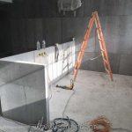 γραφείο γραμματείας με τσιμεντοσανίδα της εταιρίας ξηράς δόμησης i-project ΕΠΕ