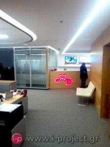Ανακαίνιση στα γραφεία της διαφημιστικής εταιρίας TEMPO_OMD στην Παλλήνη Αττικής