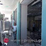 εργασίες με γυψοσανίδες στους φούρνους ΒΕΝΕΤΗΣ - Βριλήσια-11