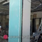 εργασίες με γυψοσανίδες στους φούρνους ΒΕΝΕΤΗΣ - Βριλήσια-12
