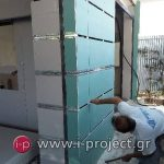 εργασίες με γυψοσανίδες στους φούρνους ΒΕΝΕΤΗΣ - Βριλήσια-18