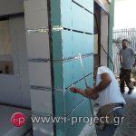 εργασίες με γυψοσανίδες στους φούρνους ΒΕΝΕΤΗΣ - Βριλήσια-19