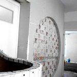 γυψοσανίδες, χωρίσματα γυψοσανίδων και ειδικές κατασκευές με τεχνοτροπίες στη διαμόρφωση εσωτερικού χώρου σε φροντιστήριο στο Παλαιό Φάληρο