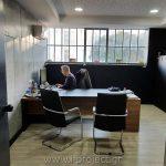κατασκευές τοιχοποιίας με τσιμεντοσανίδες και ψευδοροφές με γυψοσανίδες στα νέα γραφεία της i-project ΕΠΕ στην Αθήνα