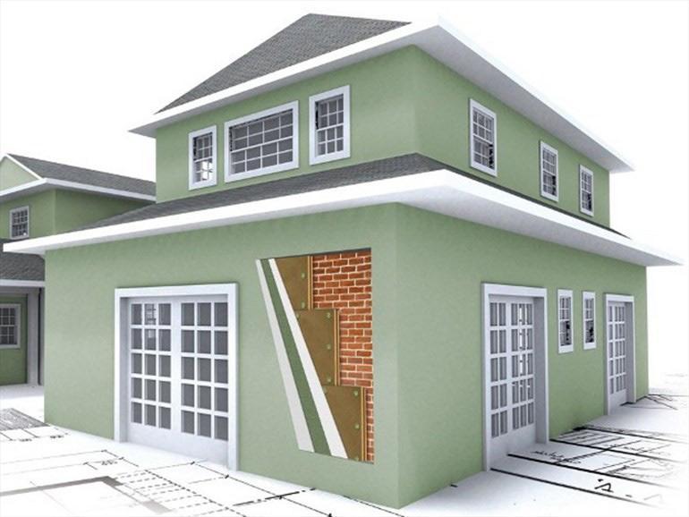 μόνωση σπιτιών εξωτερικά για εξοικονόμηση ενέργειας